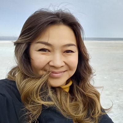Anna Osipova, painter from Yakutia