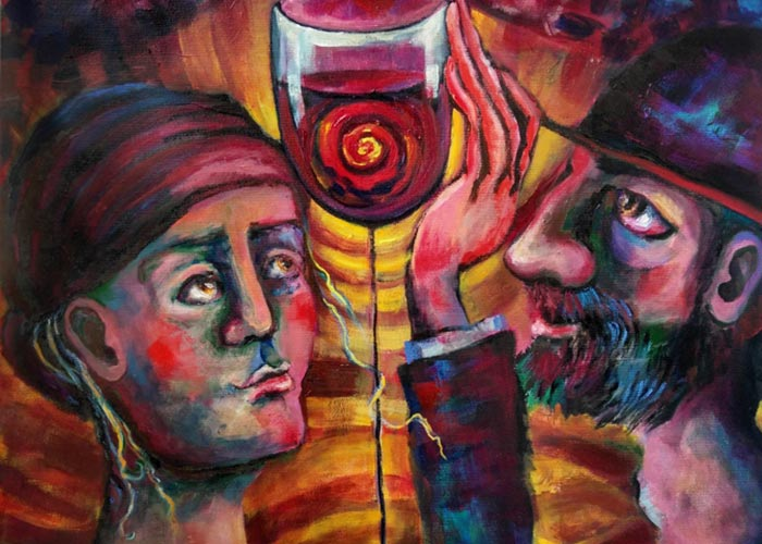 Shalom Bayit Wine by Elisheva Nesis