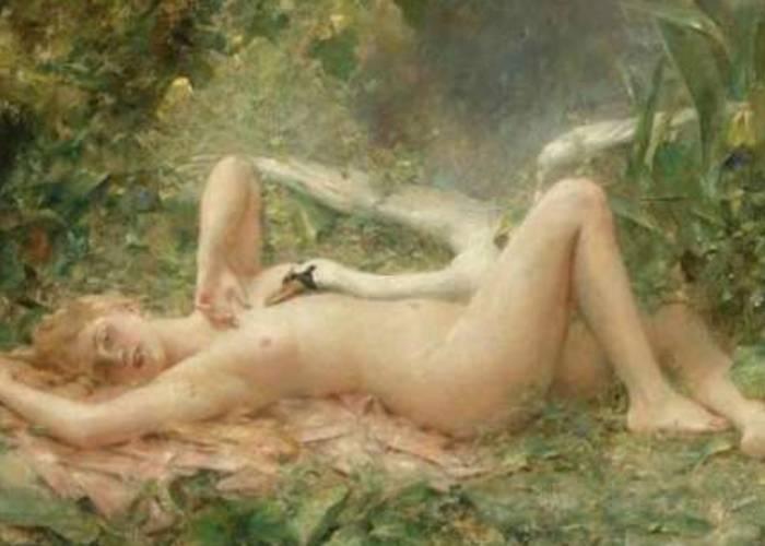 Tatiana Bonch-Osmolovskaya. White Swans